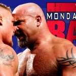 Brock Lesnar & Goldberg Face To Face on Raw 2016