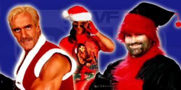 23 Wrestlers As Santa Claus