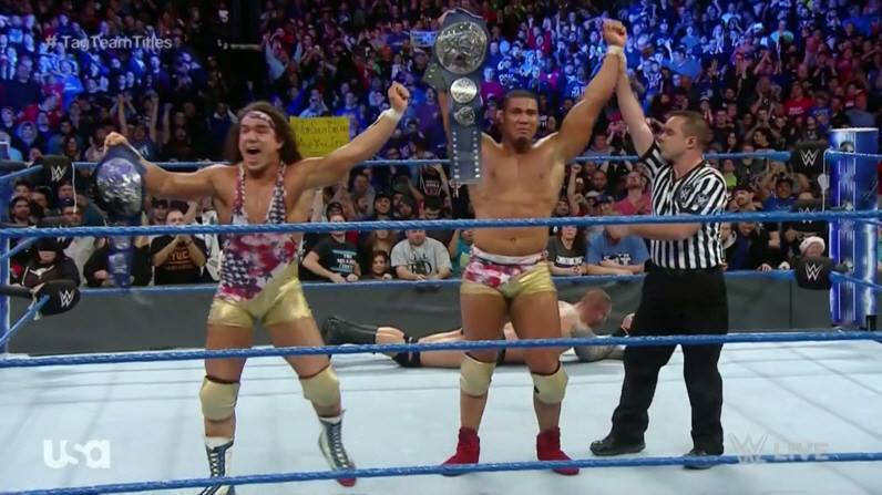 American Alpha win SmackDown Tag Team Titles
