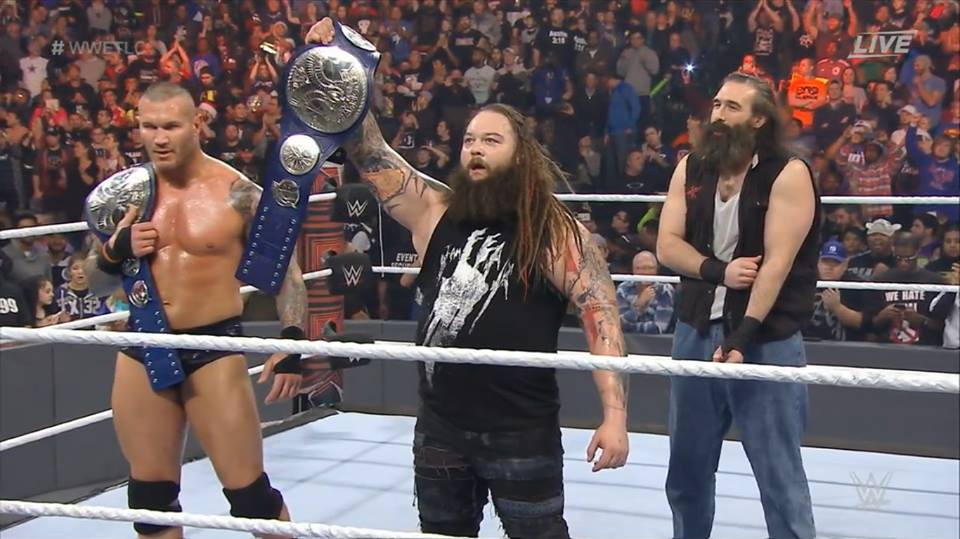 Bray Wyatt & Randy Orton win SmackDown Tag Team Titles - WWE TLC 2016