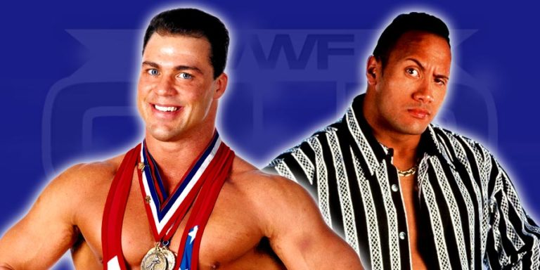 Kurt Angle & The Rock