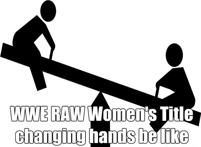 Raw Women's Title Joke