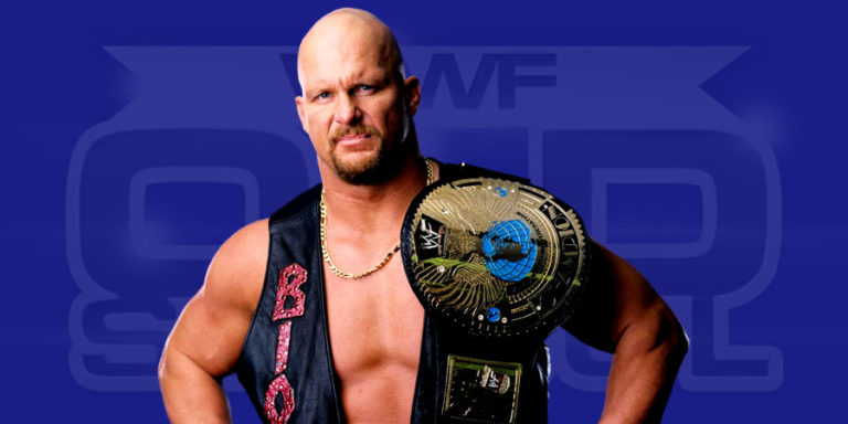 Stone Cold Steve Austin as the WWF Champion