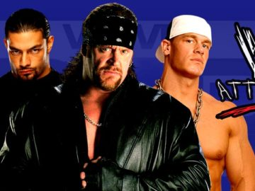 The Undertaker, Roman Reigns, John Cena