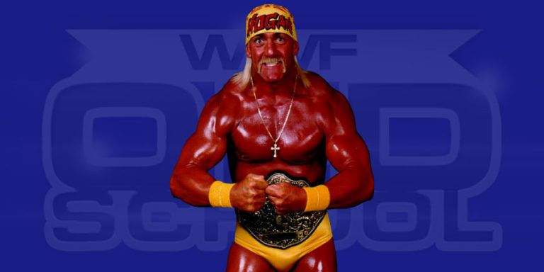Hulk Hogan as WCW World Heavyweight Champion