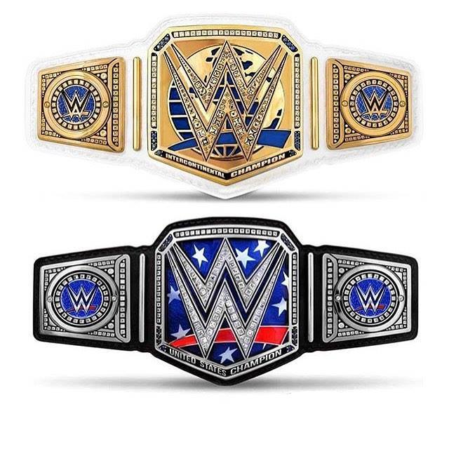 New Intercontinental & United States Title Belt Design
