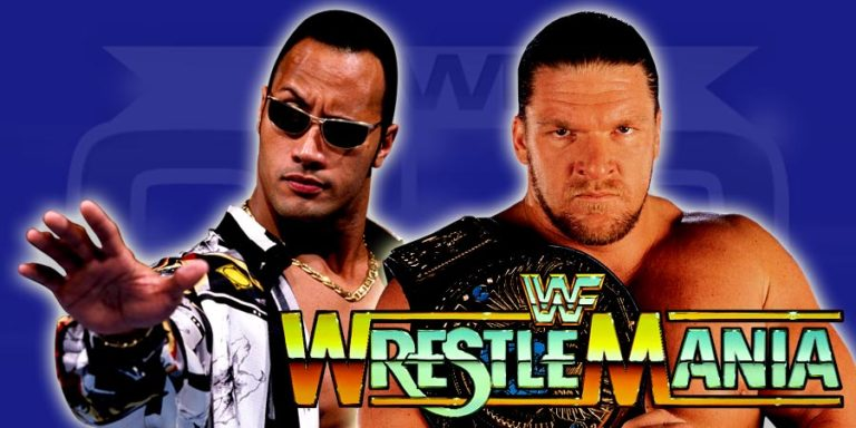 The Rock & Triple H - WrestleMania